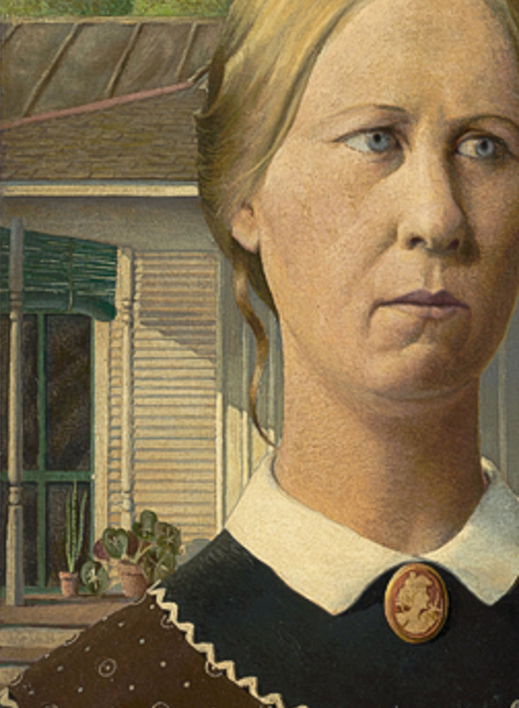 Detail, American Gothic